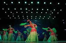 健康中国万里行-北京吉祥鸟艺术团自创舞蹈《荷》